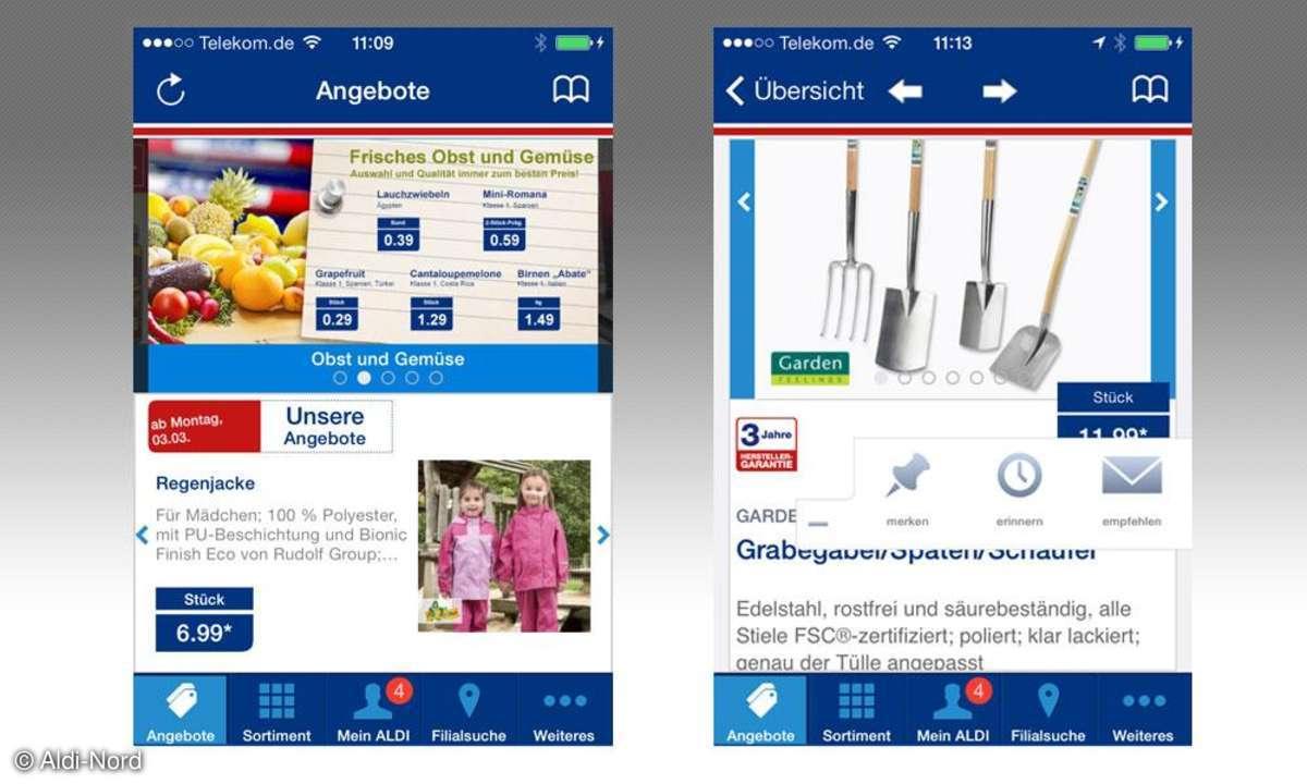 Aldi-Nord-App