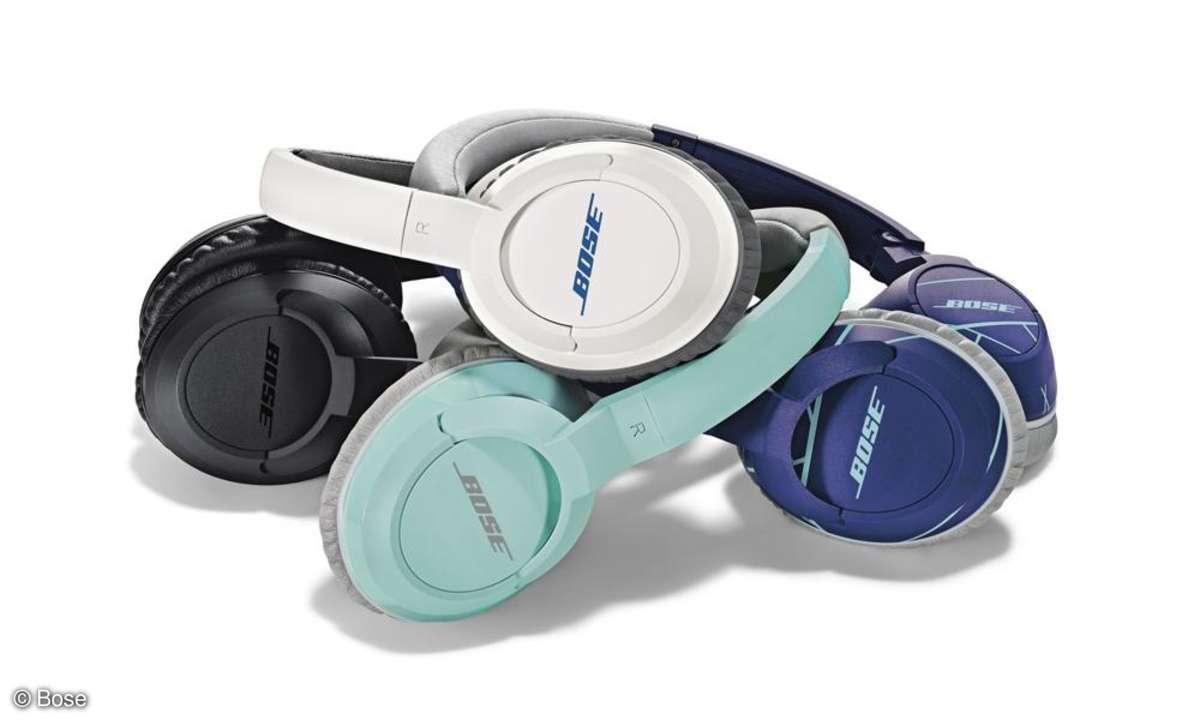 Die FreeStyle Earbuds & SoundTrue Kopfhörer von Bose.