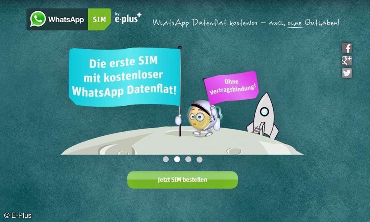 E-Plus,WhatsApp,Datenflat