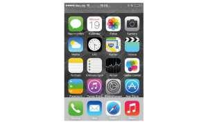Das iPhone 5c läuft mit iOS 7, der neuesten Version des Apple-Betriebssystems für mobile Geräte.