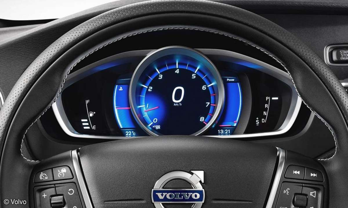 Volvo V40, Sensus Connected Touch