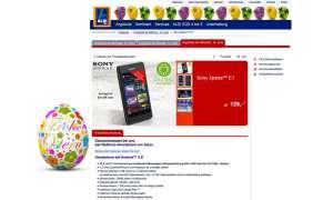 Sony Xperia E1, Aldi Süd