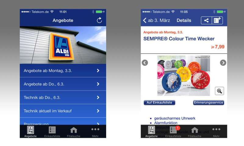 ALDI Süd-App im Test