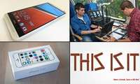 HTC One max, Apple iPhone 5 S, Android KitKat, Mobilfunk-Repeater