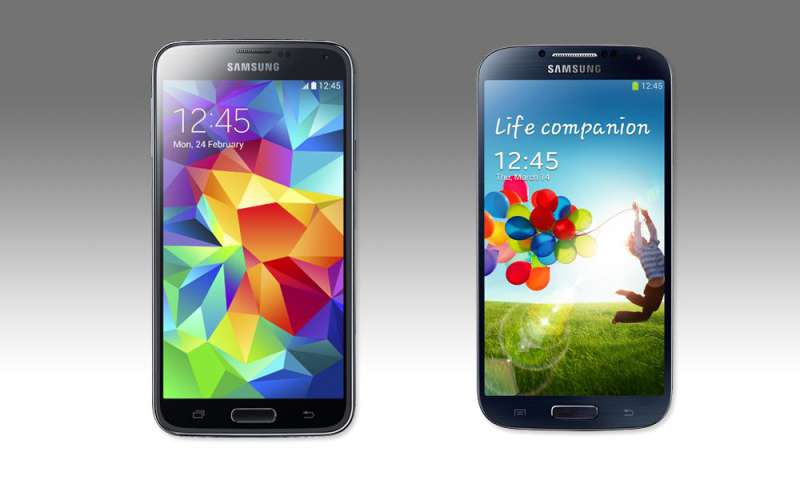 samsung galaxy s5 und s4 im vergleichstest connect. Black Bedroom Furniture Sets. Home Design Ideas