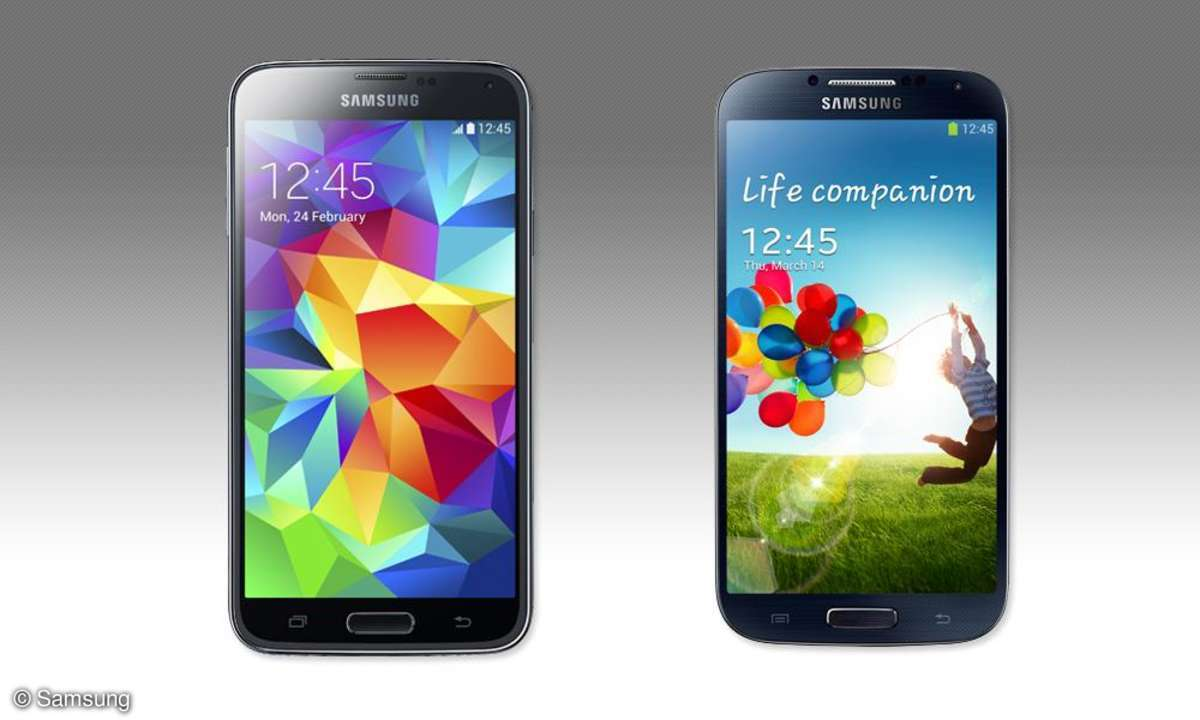 Samsung Galaxy S5, Galaxy S4