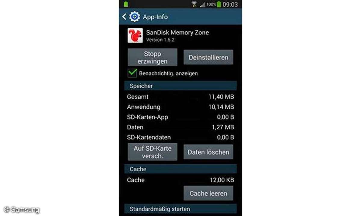 Smartphone-Tipps: Samsung Galaxy S4 - Apps auf Speicherkarte schieben