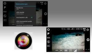 Fotografie, App, Camera FV-5