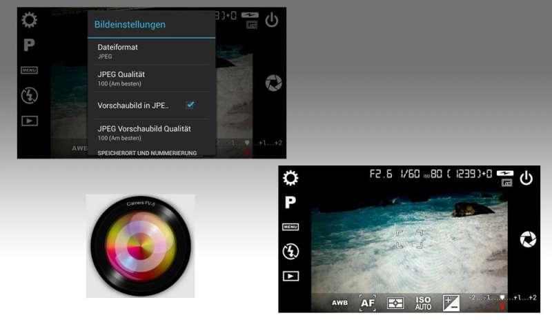 kamera app camera fv 5 im test connect. Black Bedroom Furniture Sets. Home Design Ideas