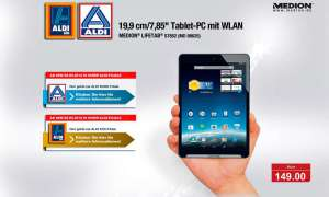 Aldi,Medion Lifetab S7852,Tablet