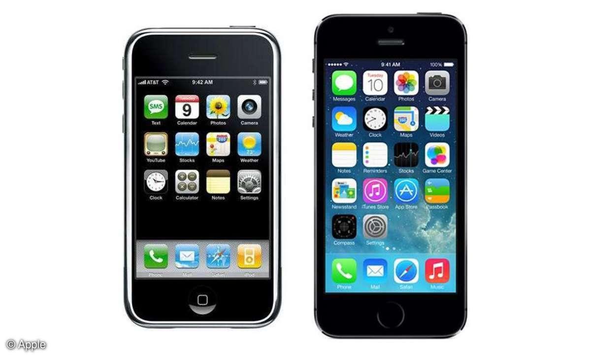 Apple iPhone und iPhone 5S