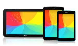 LG G-Pad 7.0,G-Pad 8.0,G-Pad 10.1