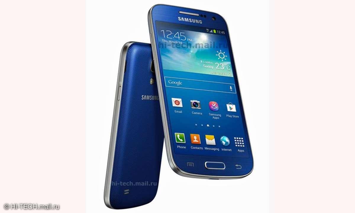 Samsung Galaxy S4 mini,blau