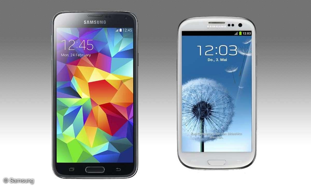 Galaxy S3 und Galaxy S5