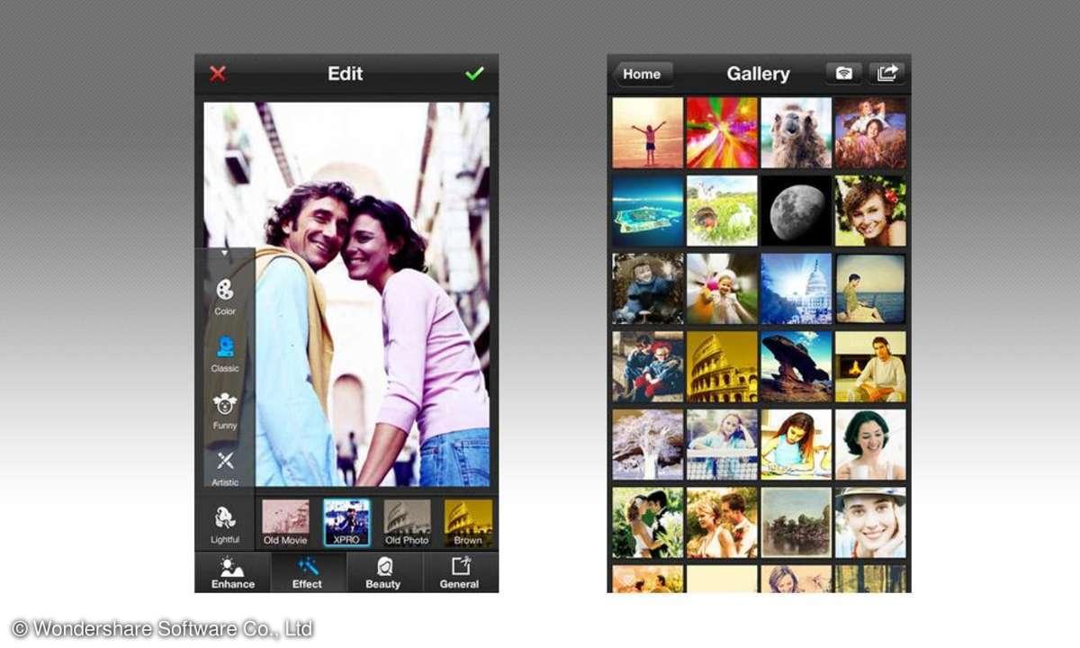 PowerCam 7 Foto App für iPhone
