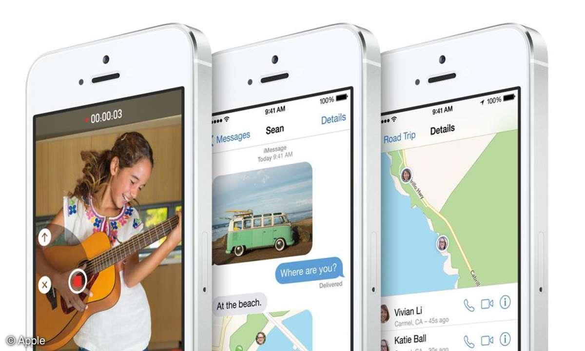 iOS 8 bringte neue Funktionen