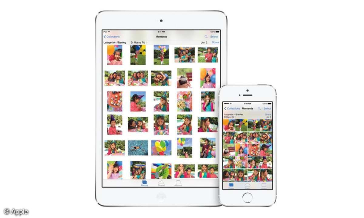 iOS 8 Moments