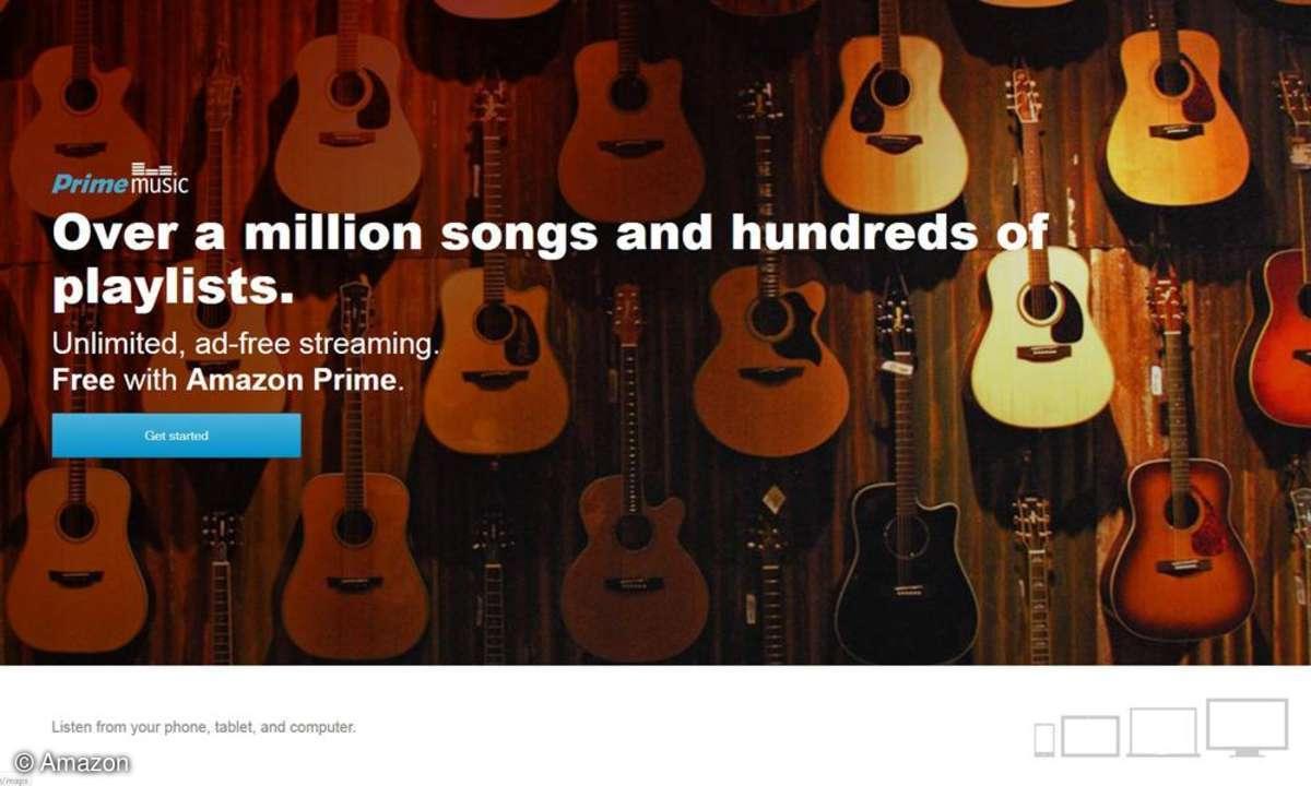 Der Streaming-Dienst Amazon Prime Music wird nun in den USA angeboten.