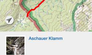 Kompass - Wanderkarte mit Live-Tracking