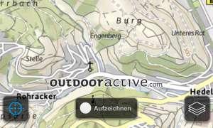 ADAC Wanderführer Deutschland 2013, screenshot