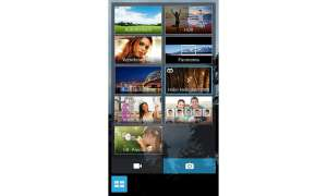 Asus Padfone mini 4.3, Kamera-App
