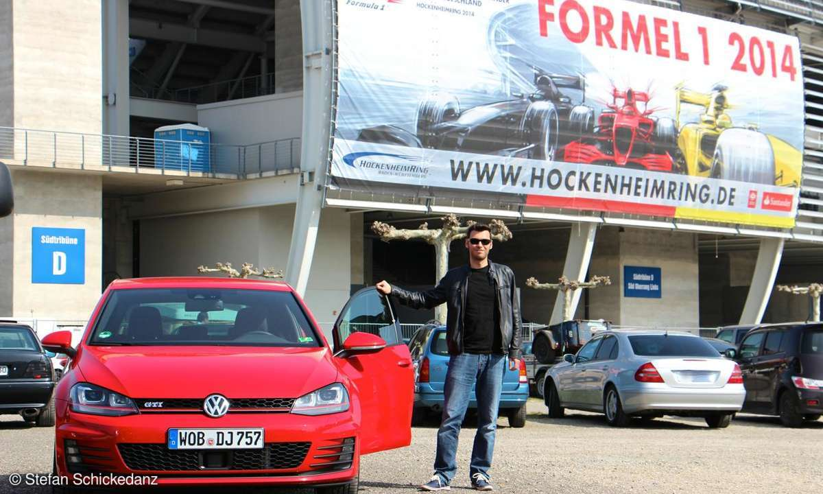 Alexandros Mitropoulos am VW Golf GTI Performance