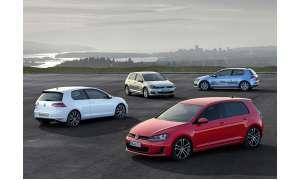 VW Golf-Treffen
