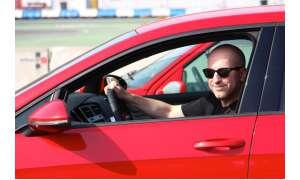 Stefan Schickedanz im VW Golf GTI Performance