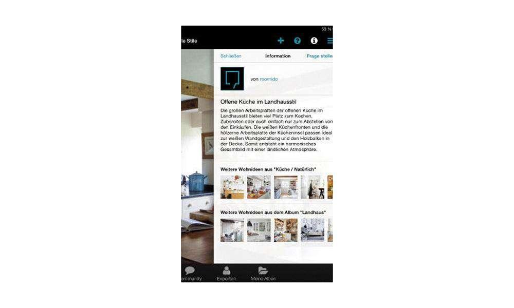 Einrichtungs App apps zur einrichtung roomido mobiler zugang zur gleichnamigen