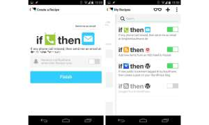 Connect IFTTT für Android