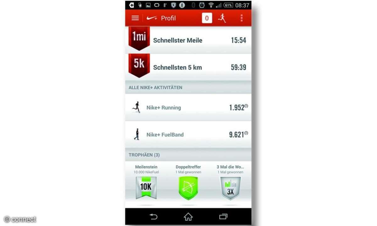 Screenshot Nike App