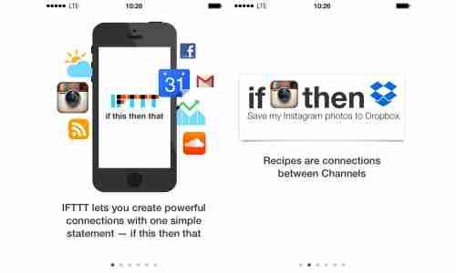 App Des Tages Ifttt Für Iphone Und Ipad Connect