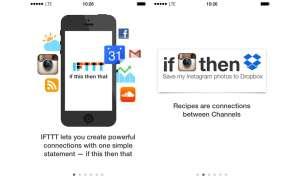 IFTTT, App, iPhone, iPad