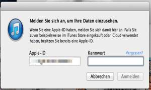 Bezahlen in Apples App Store - Account