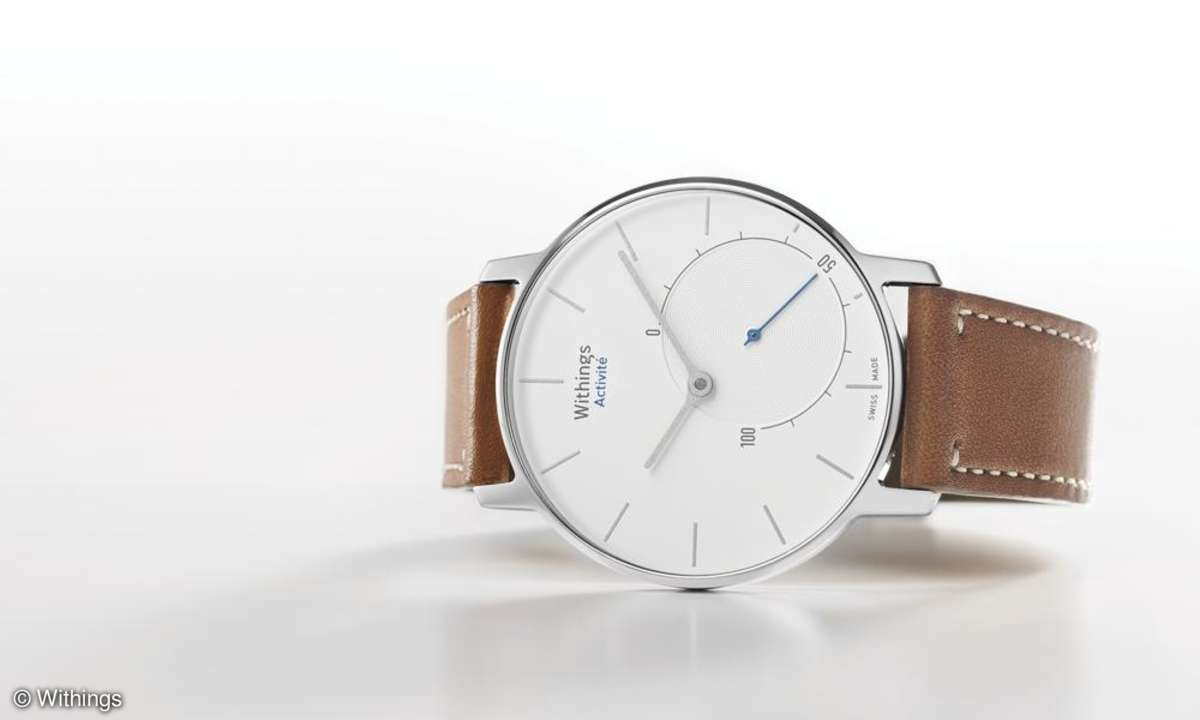 Withings Activite Smartwatch Silber