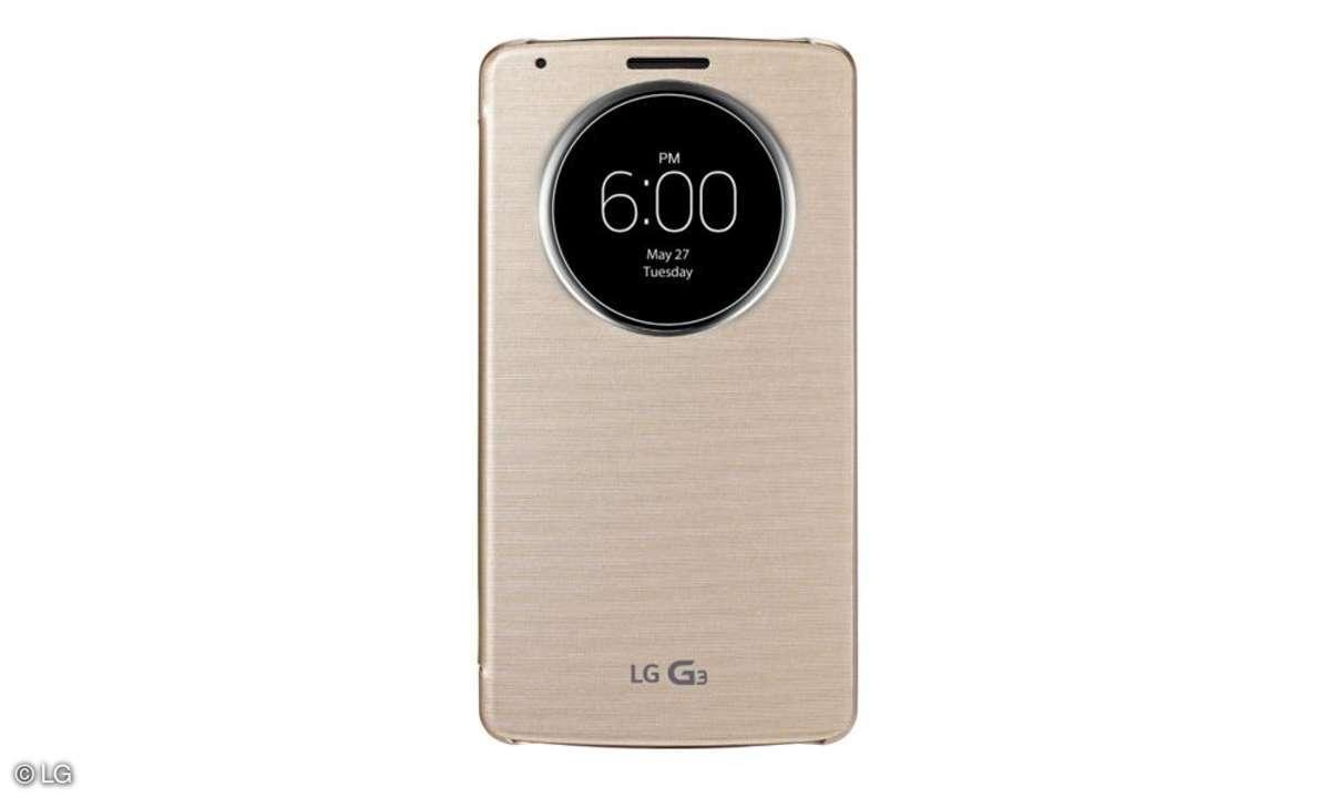LG G3, Zubehör,Quick Circle Case