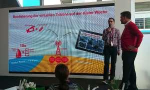 Vodafone stellt auf der Kieler Woche LTE-Videoübertragungen für Sportveranstaltungen vor