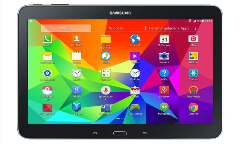 samsung galaxy tab 4 10 1 lte im test connect. Black Bedroom Furniture Sets. Home Design Ideas