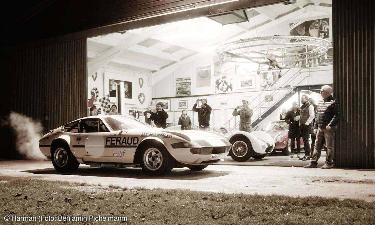 Nick Masons Ferrari Daytona