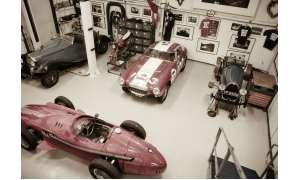 Blick in die Autosammlung von Nick Mason
