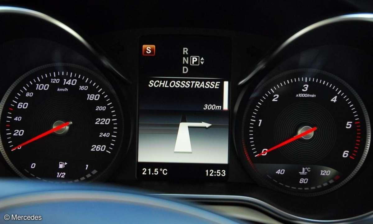Mercedes Display