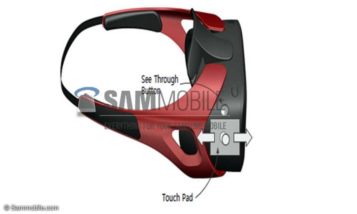 Samsung Gear VR,Virtual Reality,Datenbrille