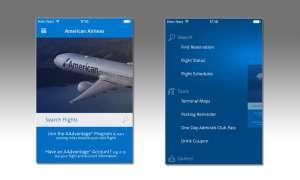 American Airlines, App
