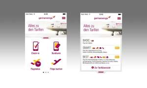 German Wings, App