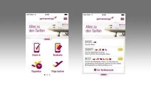 German Wings, App