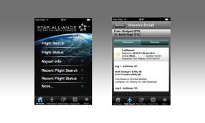 Star Alliance, App