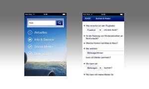 Lufthansa, App