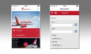 Air Berlin, App