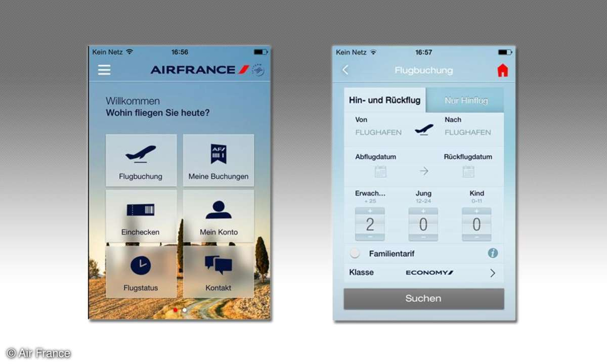 Air France, App