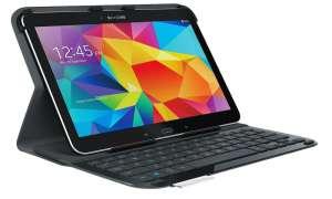 Samsung Galaxy Tab 4 10.1 LTE mit Logitech Zubehör